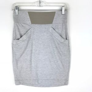 BCBGeneration Striped Pencil Stretch Skirt #1991